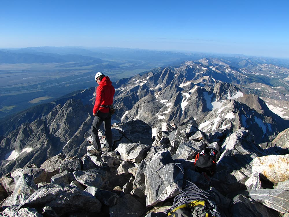 Climb the Grand Teton from your couch