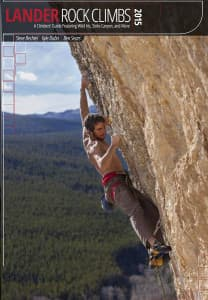 A new climbing guide book to Lander features more than 1,000 routes.