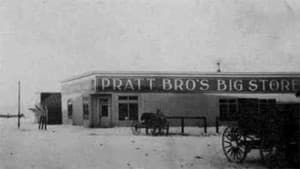 Pratt Brothers Big Store in Powell opened 1909. Martin Pratt, House speaker at the 1913 Legislature, operated the store with his brother Charles. Wyoming Tails and Trails.