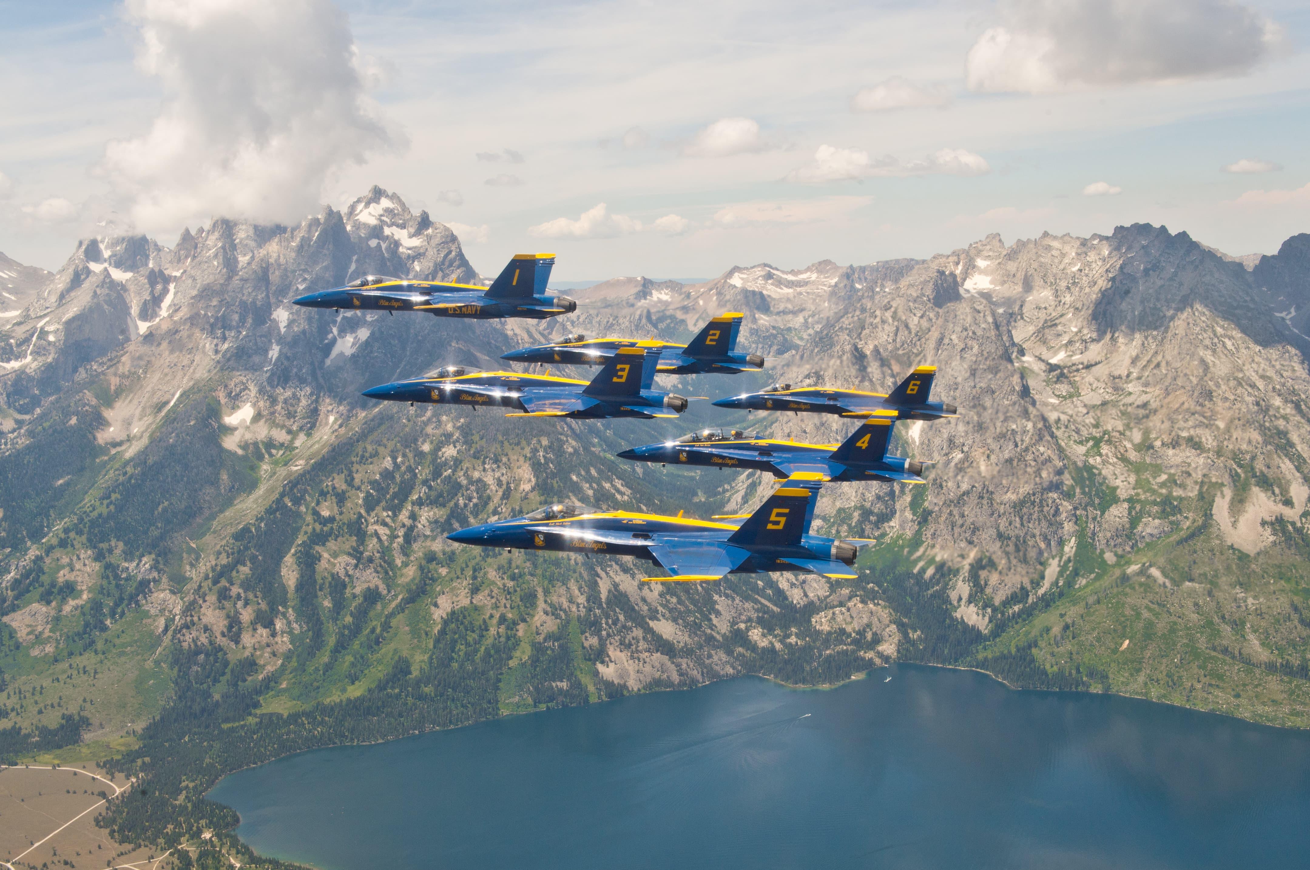 Blue Angels, Grand Tetons