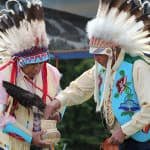 Crow men offer blessing to reopen Antelope Butte ski area