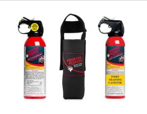 Nature's Capital, the company that hired Adam Stewart, has said it provided bear spray like these canisters made by Counter Assault to its employees. But OSHA cited the company for not providing its employees with proper safety gear. Searchers found no bear spray when they recovered Stewart's remains. (courtesy Counter Assault)