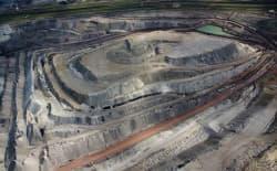 Black Thunder coal mine, in the southern Powder River Basin. (courtesy EcoFlight)