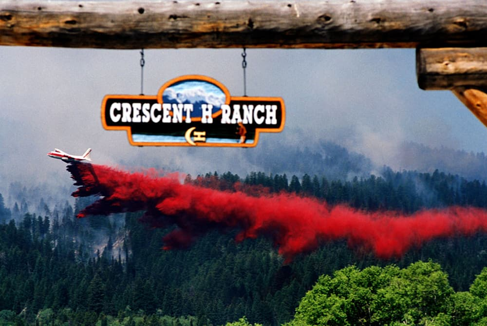 Wildfire worries, wilderness, collide above Wilson