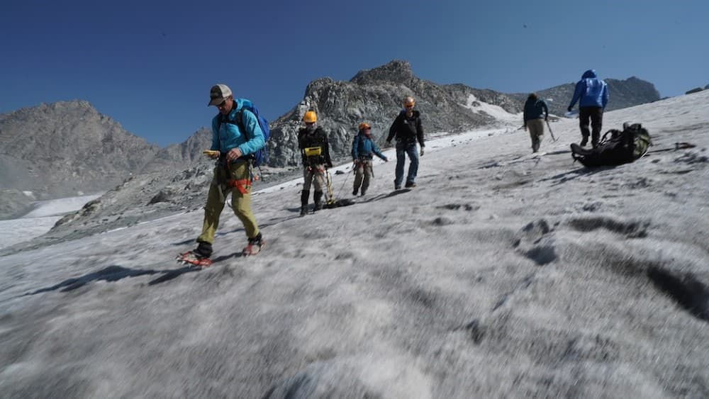 Central Wyoming students research shrinking Wind River glacier