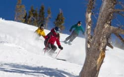 Taking a ski lesson as an adult is a great way to push out of your comfort zone and elevate your skiing. (Courtesy Jackson Hole Mountain Resort)