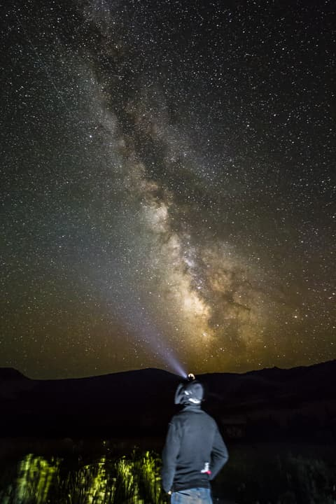 In recent years the BLM has started factoring in soundscapes and views of the night sky, when managing for different types of recreation. (Josh Milek)