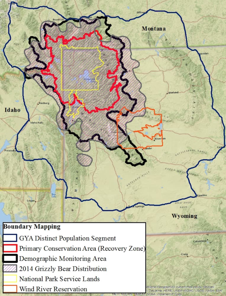 Who Owns Wyomings Wildlife Federal Authority A Sleeper WyoFile - Map of northern wyoming