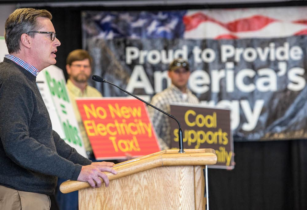 Coal giant rallies for Clean Power Plan repeal in Gillette