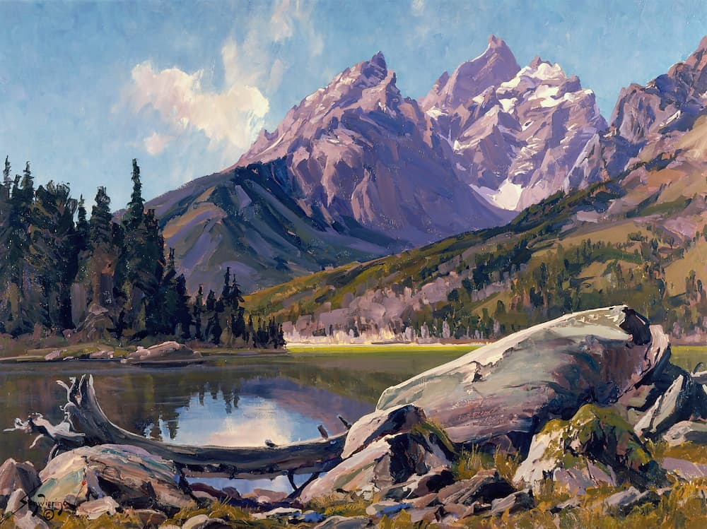 Art exhibit celebrates the Tetons