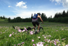 Many popular Wyoming mountain biking destnations, such as Grand Targhee pictured here, aren't appropriate for e-bikes traditional trail use, advocates say. (Photo by Lindsay Nohl)