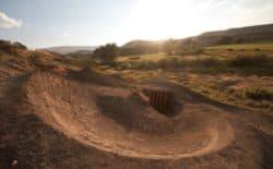 Alan Mandel built his dream bike trail on his parent's property near Lander. (Josh Mandel)