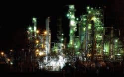 An oil refinery in Evansville, Wyoming. Oil and gas expect an easier time getting permits to drill under a Trump administration. (Wikimidia Commons/Tara Crooker/Drydofoo)