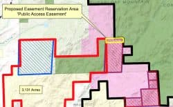A top state official is recommending that the controversial Bonander land swap contain an easement to preserve access to public land, including parts of the Medicine Bow National Forest. (Office of State Lands and Investments)