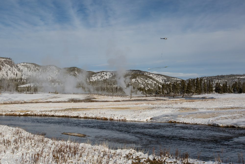 Scientists map Yellowstone's underground water