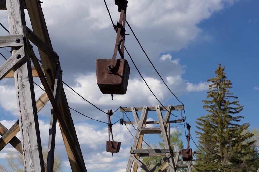 Encampment's aerial tram