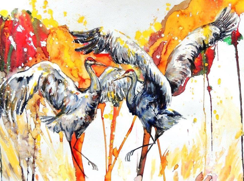 "Ucross's ""Universal Language of Birds"" melds science and art"