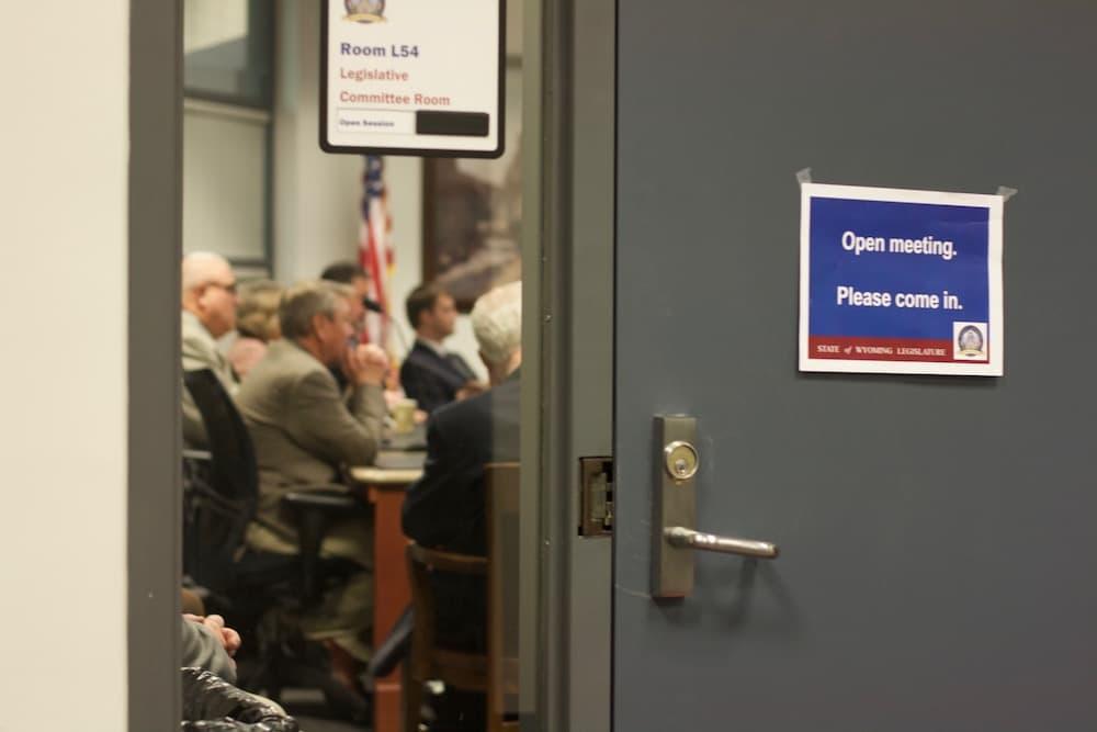 Legislature's auditing committee works behind closed doors