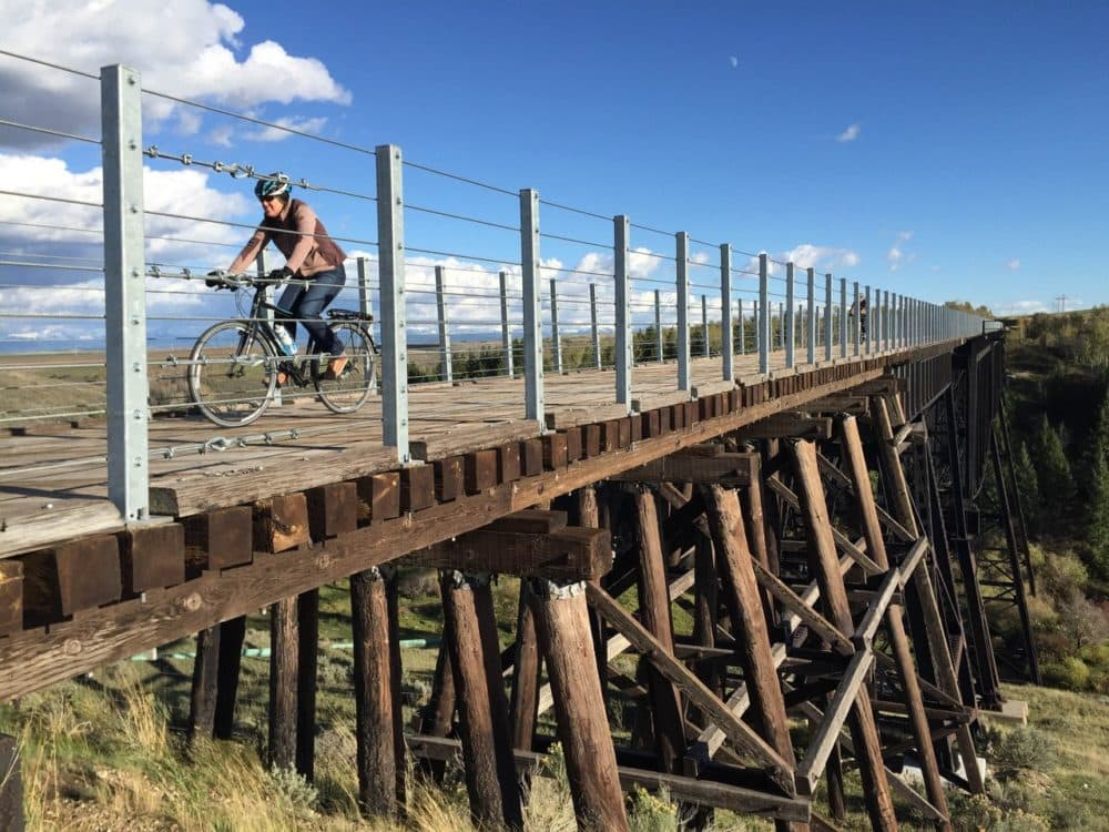 Greater Yellowstone cycle trail rolls toward completion