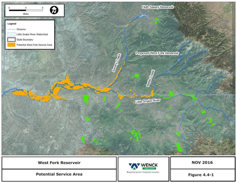 80m Publicly Funded Dam Would Serve Only 100 Wyofile