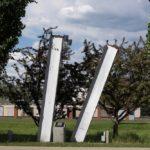 Evanston's 'twin towers'