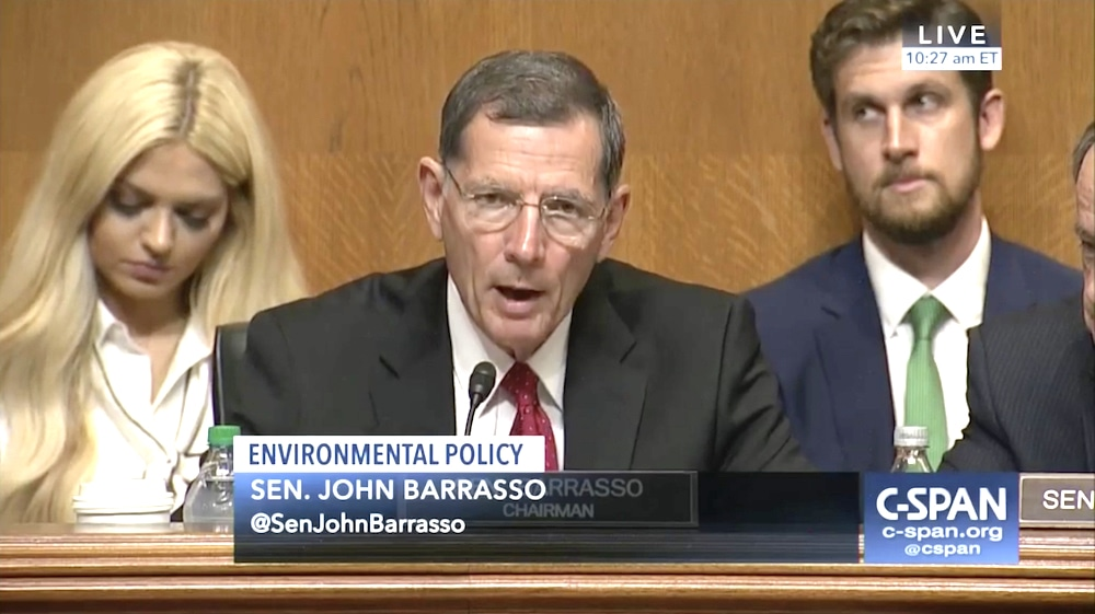 Barrasso widens money lead with out-of-state backing
