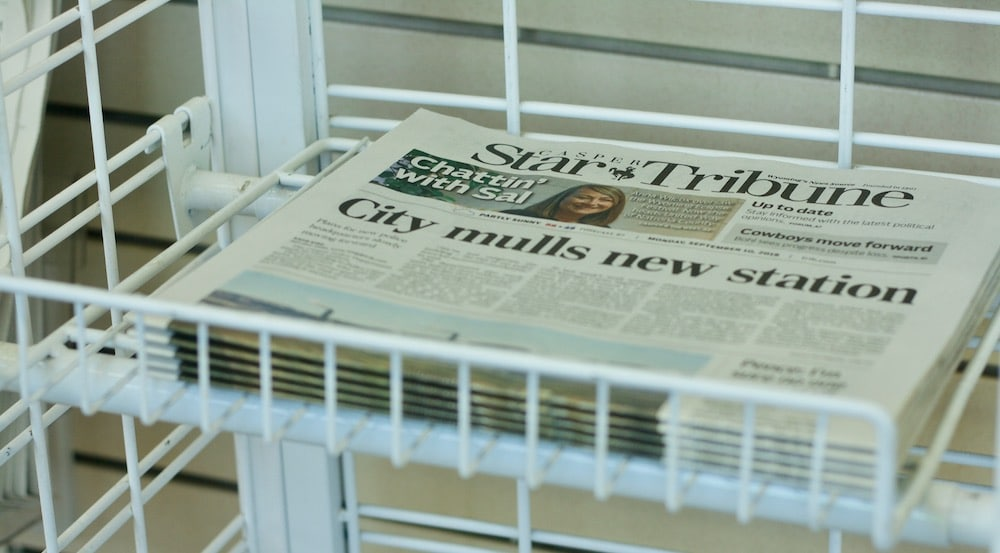 Wyoming's largest newspaper comes to a crossroads