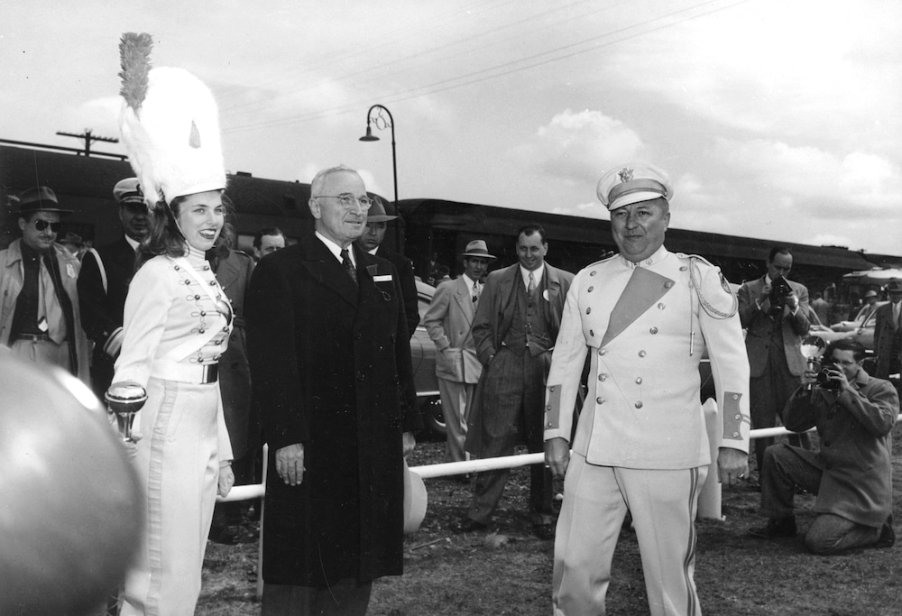 Truman in Casper