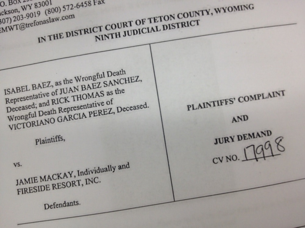 Developer sued over immigrant worker deaths in Teton County