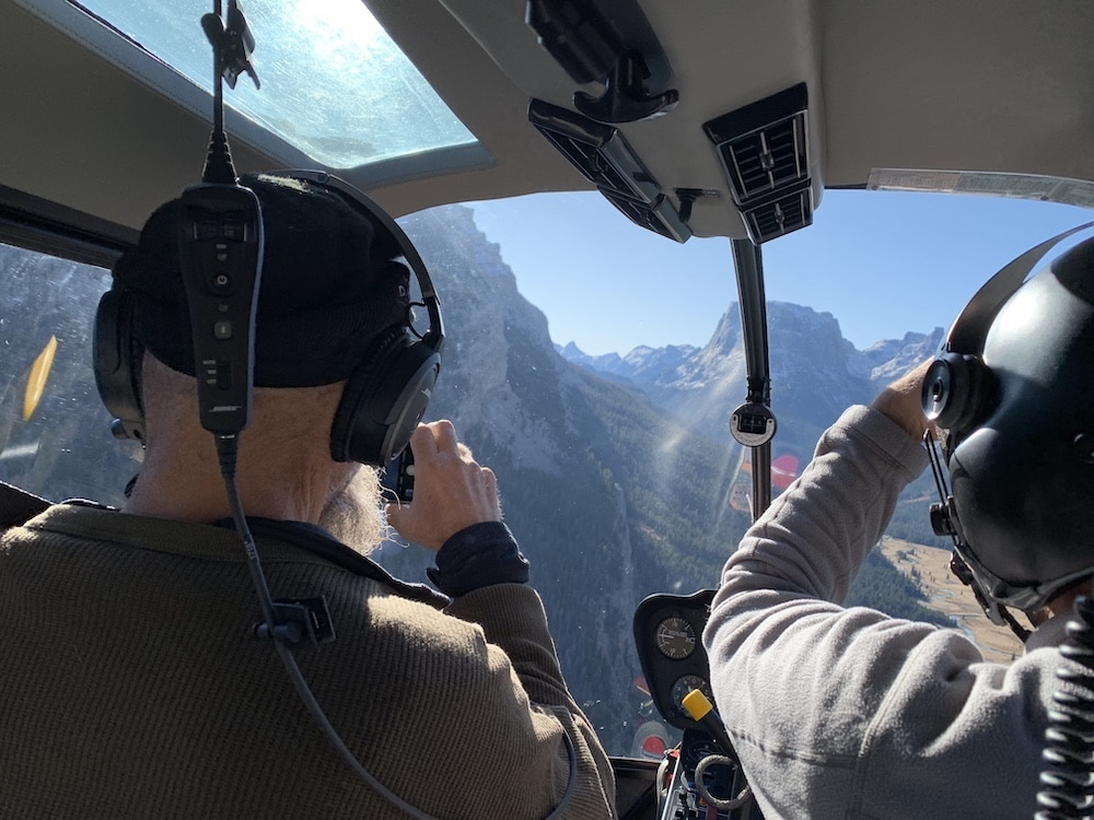 Teton helicopter tours in limbo after crowd shows opposition