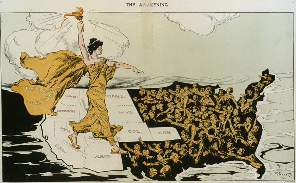 'State of Equality': behind the scenes of new suffrage film