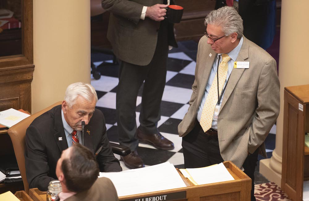 Prison contractor squares off with counseling lobby in Capitol