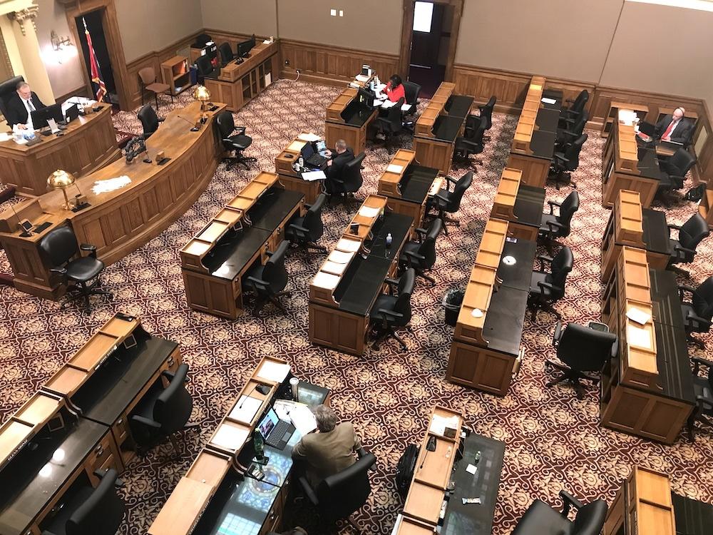 Senate pushes biz virus immunity bill without public input