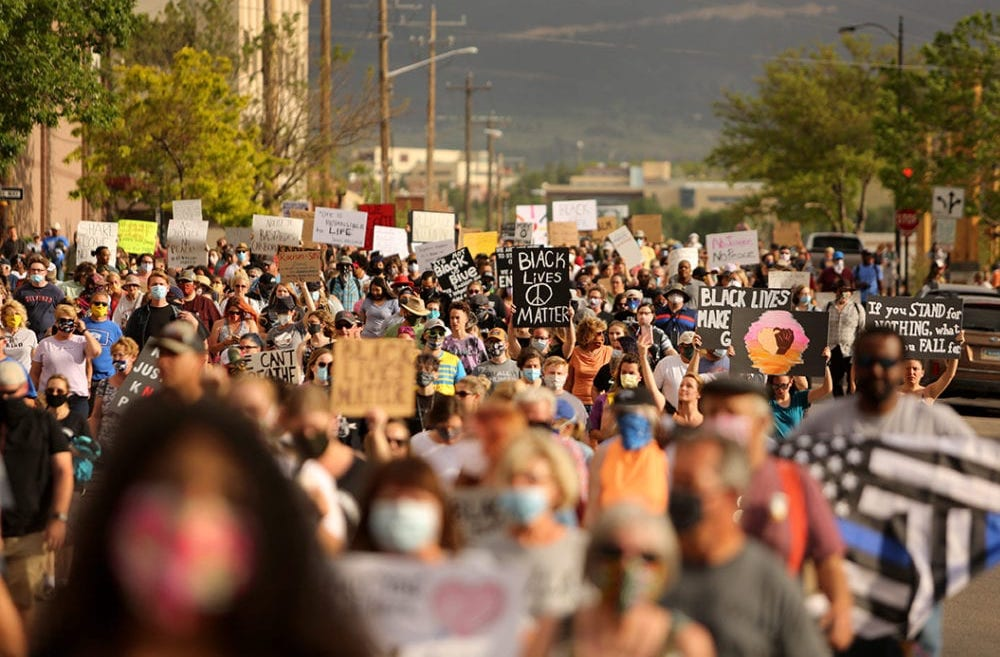 Photography: Protests across Wyoming