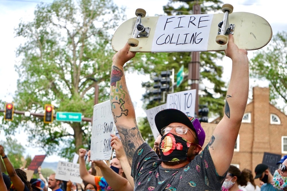 Protests reignite an old police-brutality fight in Laramie