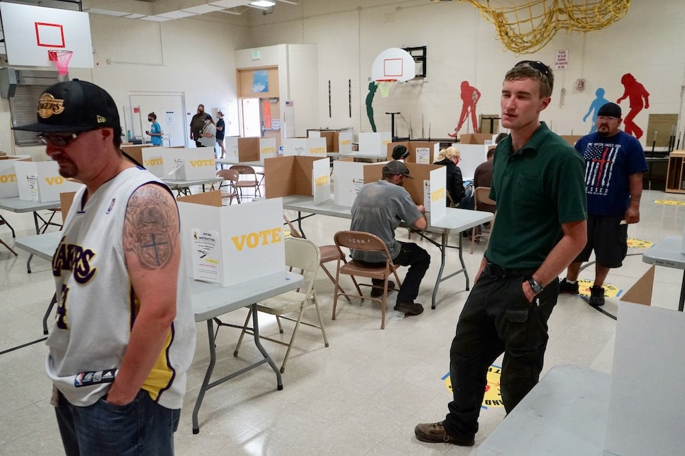 Judge deems Wyo's polling-place buffer zones unconstitutional