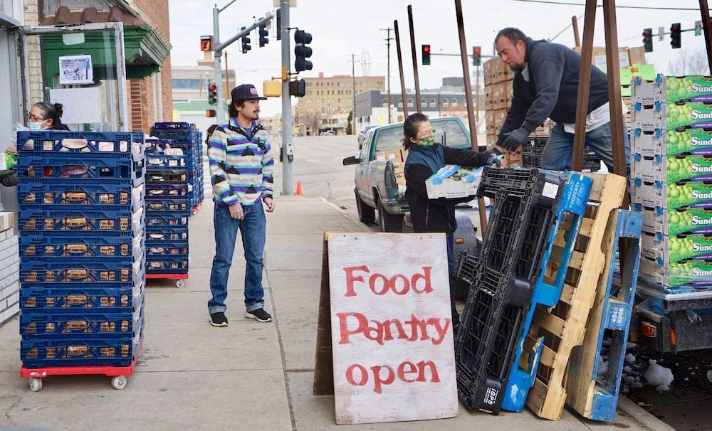 Food bank serves new clientele as pandemic enters 2021