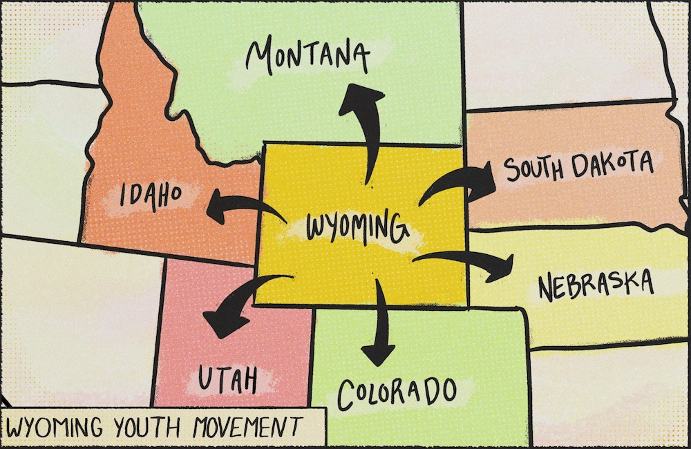 'Love it and leave': The choices facing Wyoming's youth