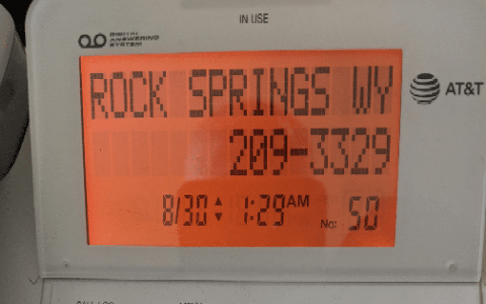 Illegal political robocalls rankle Wyoming voters